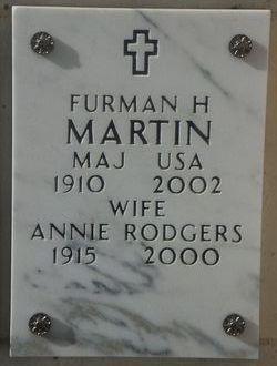 Annie Elizabeth <i>Rodgers</i> Martin