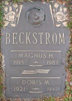 Doris May <i>Russell</i> Beckstrom