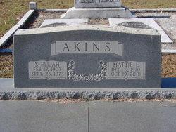 Mattie Lizzie Akins