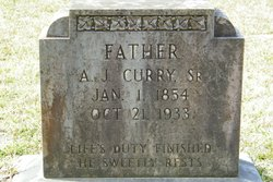 Andrew Jackson Uncle Jack Curry, Sr