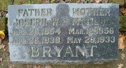 Matilda <i>Strahm</i> Bryant