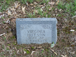 Virginia <i>Hutson</i> Bausack