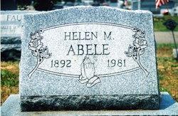 Helen Margaret <i>Hursh</i> Abele
