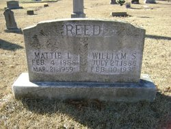 Mattie L. <i>Alley</i> Reed