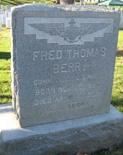 CDR Fred Thomas Berry