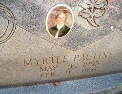 Myrtle Pauline <i>Oliver</i> Cannon