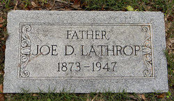 Joseph D. J.D. Lathrop