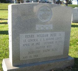 Gen Henry William Buse, Jr