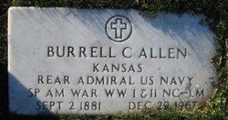Adm Burrell Clinton Allen
