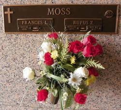 Frances Lanelle <i>Allen</i> Moss