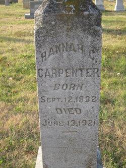 Hannah Catharine <i>Kiser</i> Carpenter