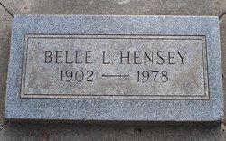 Belle H <i>Legare</i> Hensey