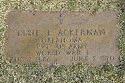 Elsie LeRoy Ackerman