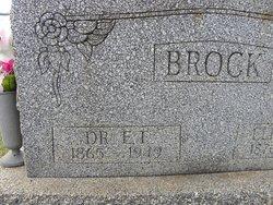 Ebenezer Thompson Brock