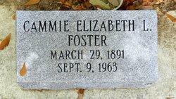 Cammie Elizabeth L Foster