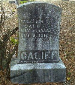 William L Califf
