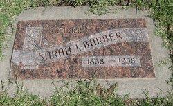 Sarah Isabelle <i>Morris</i> Barber