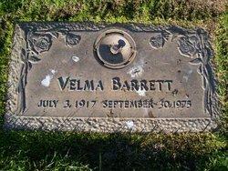 Velma Barrett