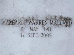 Margaret <i>Warren</i> Mallard