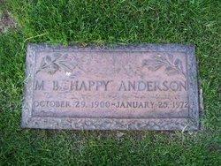M B Happy Anderson