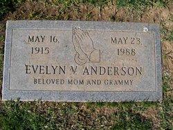 Evelyn V Anderson
