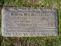 Beulah <i>MacMillan</i> Amie