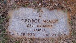 George E McCoy