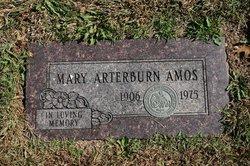 Mary <i>Arterburn</i> Amos