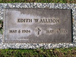 Edith W Allison