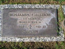 Benjamin F Allison
