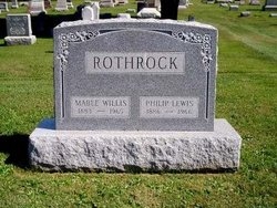 Mable <i>Willis</i> Rothrock
