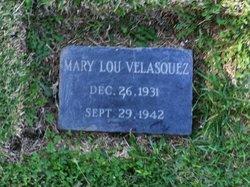 Mary Lou Velasquez