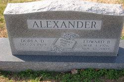 Dorla D. <i>McHatton</i> Alexander
