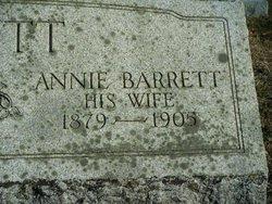 Annie <i>Barrett</i> Hewitt