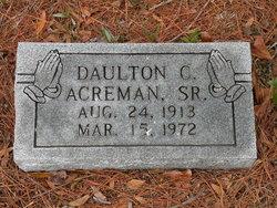 Daulton Chester Humpy Acreman, Sr