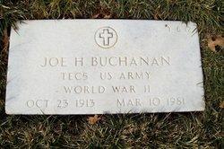 Joe Harvey Buchanan