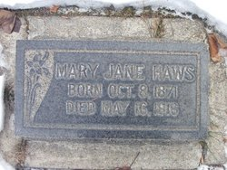 Mary Jane <i>Gee</i> Haws