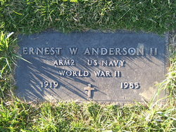 Ernest W Anderson, II
