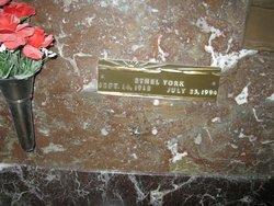 Ethel Lenore <i>York</i> Davis