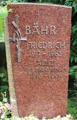 Friedrich Albert B�hr