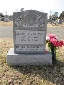 Alantha Virginia <i>Gallahan</i> Klecka
