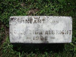 Infant Son Albright
