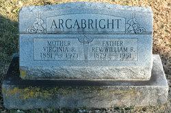 Rev William Robert Argabright