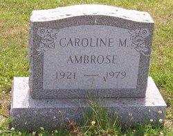 Caroline M. Ambrose