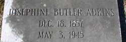 Josephine <i>Butler</i> Adkins