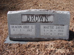 Deacon Obie L Brown