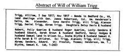 Col William Trigg, Jr