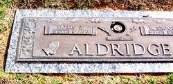 Doris <i>Parker</i> Aldridge
