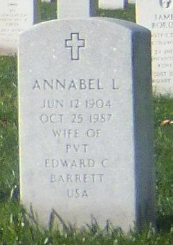 Annabel L Barrett