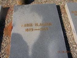 Abbie <i>Holloway</i> Allen